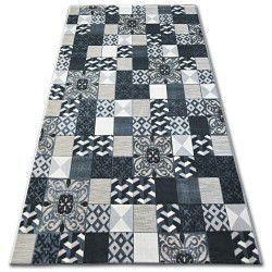 Covor Lisabona 27218/356 Pătrate Superficial negrulisbon portugal stil