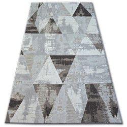 Covor Lisabona 27216/655 Triunghiuri maro