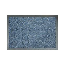 Covor de intrare antialunecare Goldtwist albastru