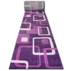Traversa heat-set Fryz Focus - F240 violet Squares prună buruiană