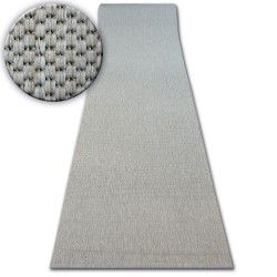 Traversa sisal Floorlux model 20433 argintiu