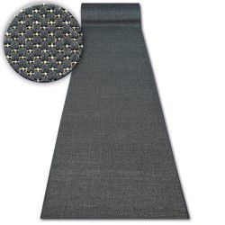 Traversa sisal Floorlux model 20433 negru