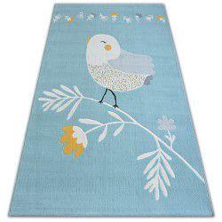 Covor Pastel 18404/032 - Pasăre albastru