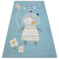 Covor Pastel 18403/032 - Șoarece albastru