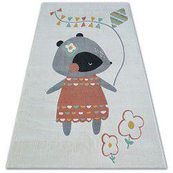 Covor Pastel 18403/063 - Șoarece crem