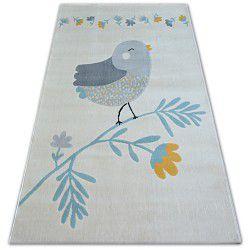 Covor Pastel 18404/062 - Pasăre crem