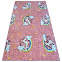 Covor pentru copii Unicorn roz Inorog