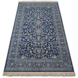 Covor Windsor 22935 Jacquard albastru inchis - Flori