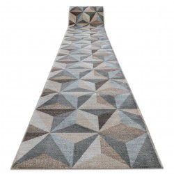 Traversa Argent - W6096 Triunghiuri 3D bej si albastru