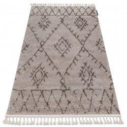 Covor Berber Fez G0535 bejsimaro Franjuri shaggy pletos