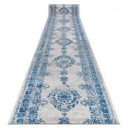Traversa Vintage 22206063 Rozetă albastru și gri
