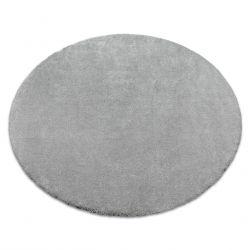 Covor rotund STAR argint