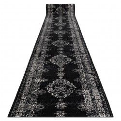 Traversa Vintage 22206996 Rozetă negru și cremă
