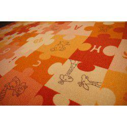 Mocheta Puzzle portocaliu