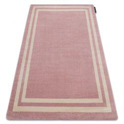 Covor HAMPTON cadru roz