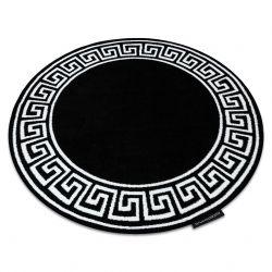 Covor HAMPTON Grecos cerc negru
