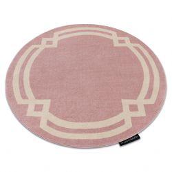 Covor HAMPTON Lux cerc roz