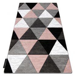 Covor ALTER Rino triunghiuri roz