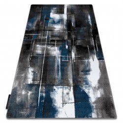 Covor INTERO ART 3D abstracțiune albastru
