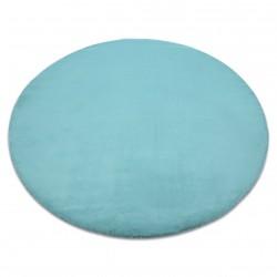 Covor BUNNY cerc aqua albastru
