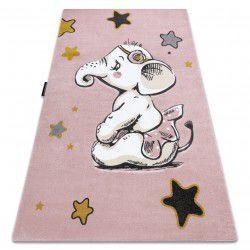 Covor PETIT ELEPHANT ELEFANT STEA roz