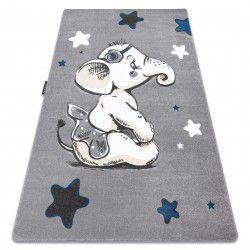 Covor PETIT ELEPHANT ELEFANT STEA gri