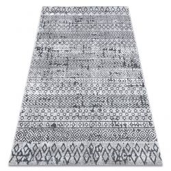 Covor Structural SIERRA G6042 țesute plate bej / cremă - geometric, etnic