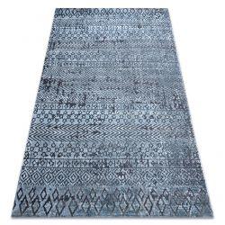 Covor Structural SIERRA G6042 țesute plate albastru - geometric, etnic