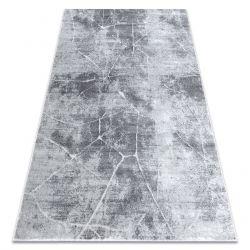 Covor MEFE modern 2783 Marmură - structural două niveluri de lână gri