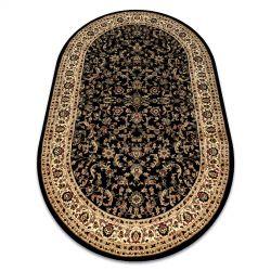 Covor Royal Adr oval model 1745 negru