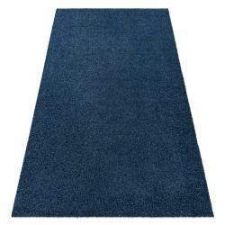 Covor modern de spalat ILDO 71181090 albastru inchis