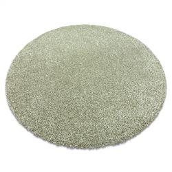 Covor modern de spalat ILDO 71181044 cerc verde măslin
