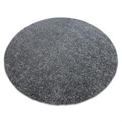 Covor modern de spalat ILDO 71181070 cerc antracit gri