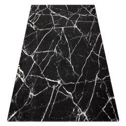 Covor GNAB 60639733 Marmură modern gri / alb