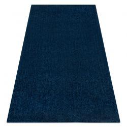Covor modern de spalat LATIO 71351090 albastru inchis