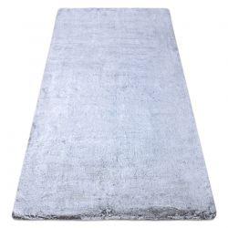 Covor modern de spălat LAPIN shaggy, antiderapant gri / fildeș