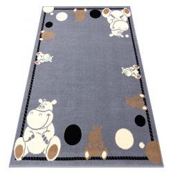 Covor BCF Flash Hippo 3993 - Hipopotam gri