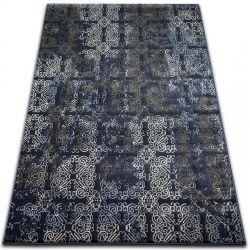 Covor Drop Jasmine 453 albastru inchis