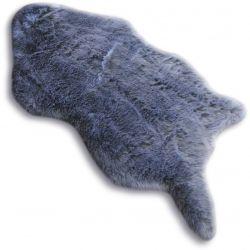 Covor din blană sintetica Skin Dolly 60x90 cm taupe