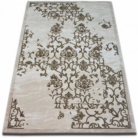 Covor acril Beyazit 1798 fildeş si maro