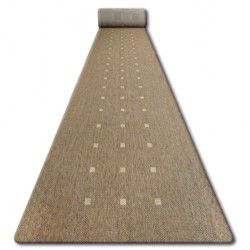 Traversa sisal Floorlux model 20079 coffe si mais
