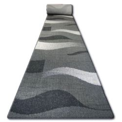 Traversa sisal Floorlux model 20212 negru si argint