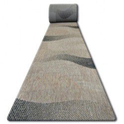 Traversa sisal Floorlux model 20212 coffe si negru