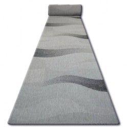 Traversa sisal Floorlux model 20212 argint si negru
