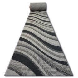Traversa sisal Floorlux model 20353 argintiu si negru