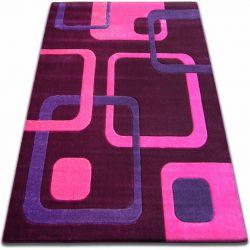 Covor Focus - F240 violet Squares