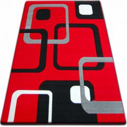 Covor Focus - F240 roșu Squares